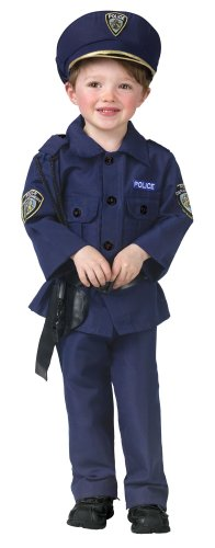 Fun World Costumes Baby Boy's Complete Policeman Toddler Costume