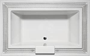 Americh IN7547TA3-BI Infini Vista 7547 - Tub Only / Airbath 3 Combo - Biscuit Finish