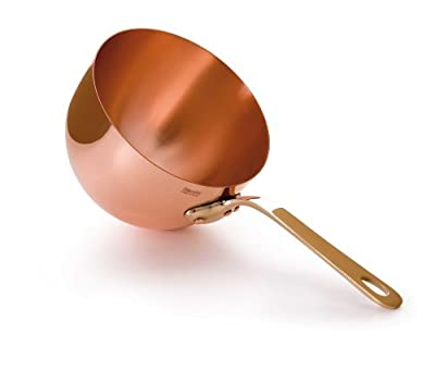 Mauviel M'Passion 2195.20 Copper 3-1/2-Quart Zabaglione Pan