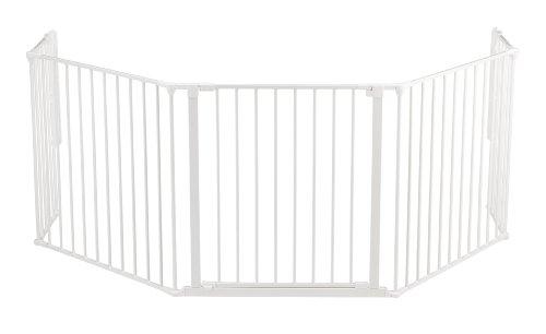Baby Dan, Grata protettiva da caminetto, Bianco (Weiss)