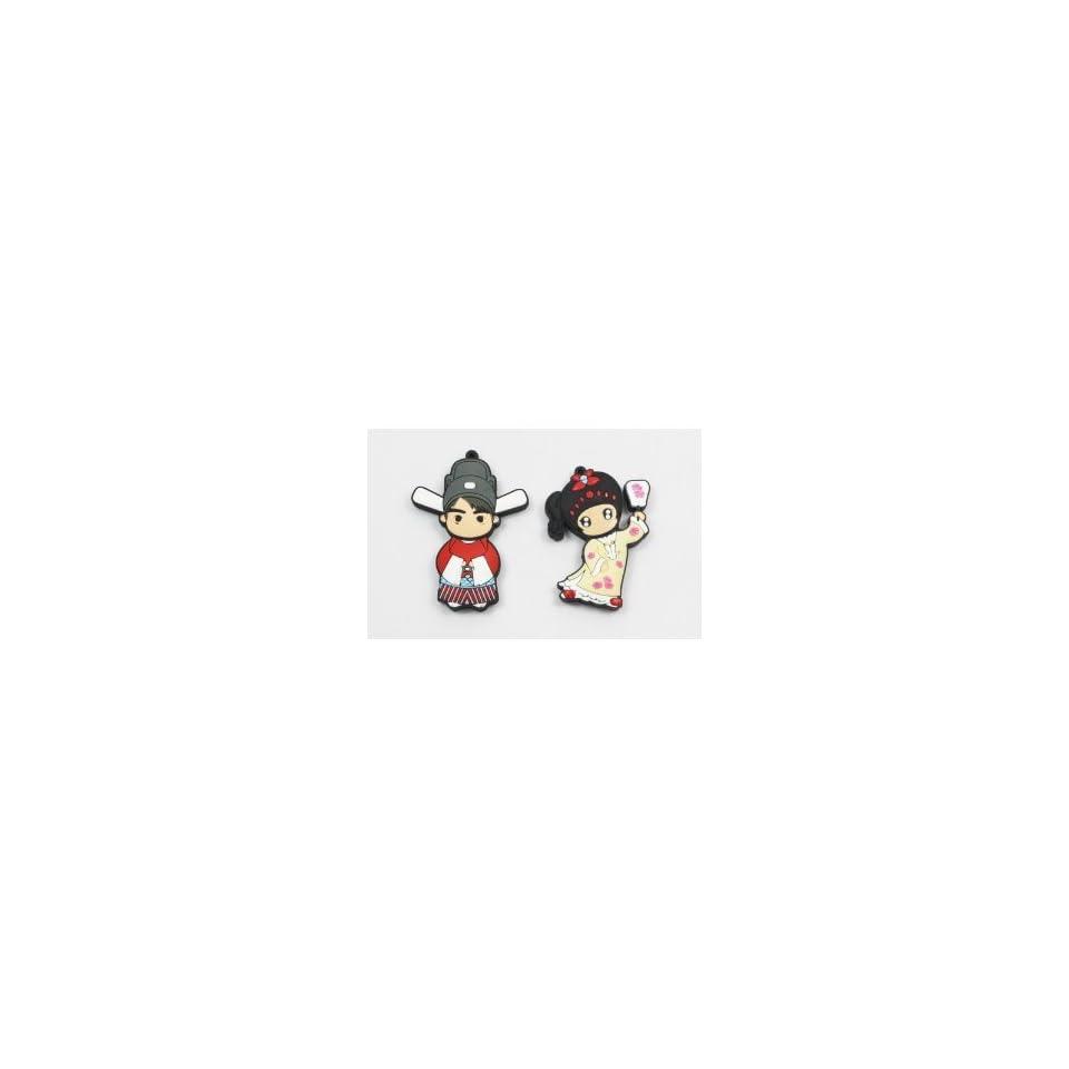 Cartoon USB Flash Memory Drive 8gb Princess + Consort