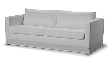 Dekoria Fire Retarding IKEA Boden Länge Karlstad 3er Sofa Cover–Dove Grau Chenille