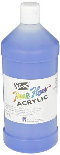 Sax True Flow Medium Bodied Acrylic Paint - Quart - Phthalo Blue