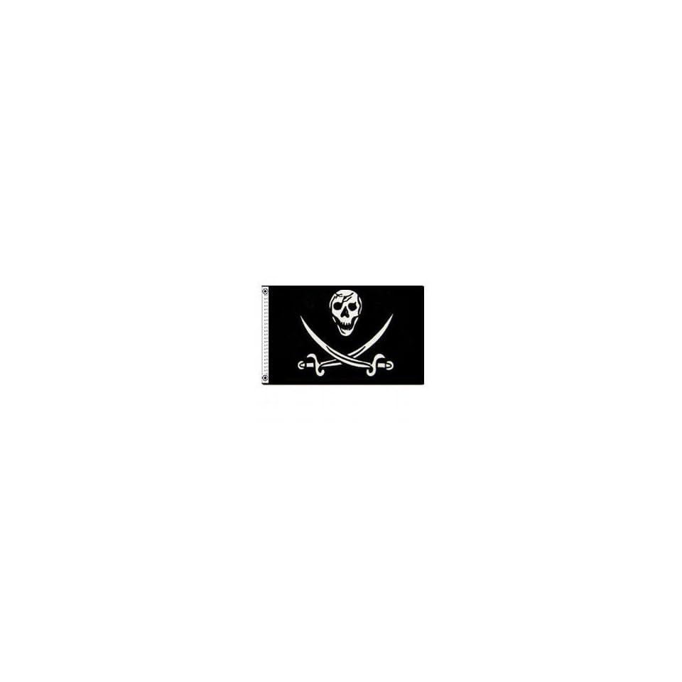Skull and Swords Flag 3 FT. x 5 FT.