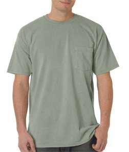 Chouinard Adult Heavyweight Short Sleeve Pocket Tee. CD6030