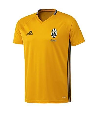 adidas Camiseta de Fútbol Juve Trg Jsy Dorado / Gris