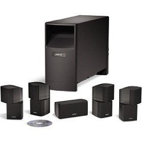 Bose Acoustimass 10 Series IV home entertainment speaker system - Black