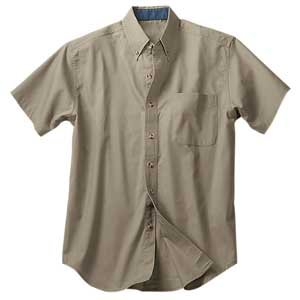 Teflon Finish Short Sleeve Shirt