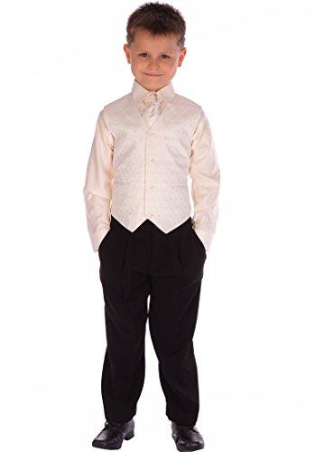 4-Piece-Boys-Black-Cream-Suit