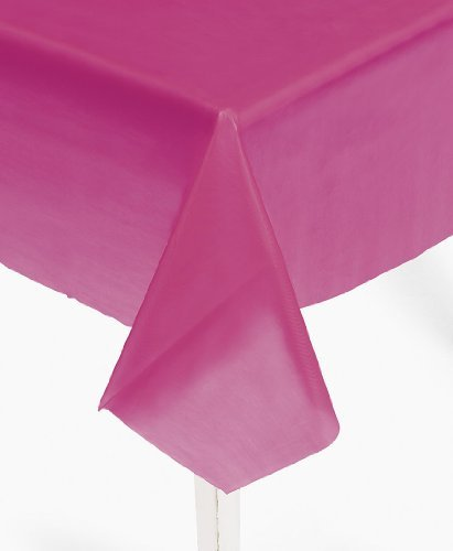 Hot Pink Table Cover (1 pc)