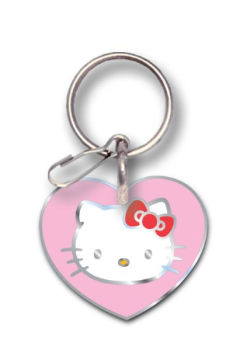 Officially Licensed Hello Kitty Enamel Key Chain (Hello Kitty Chrome Book Cover compare prices)