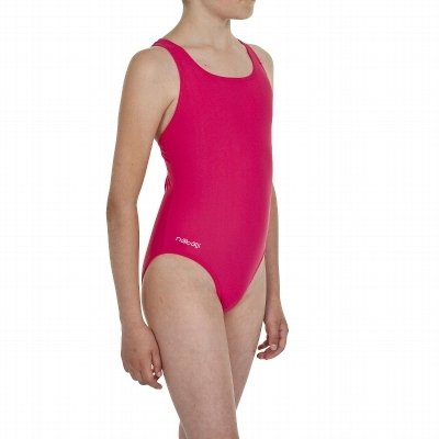 JUNIOR /GIRLS/CHILDRENS PINK SWIMMING COSTUME/SWIMSUIT. AGE 4-14