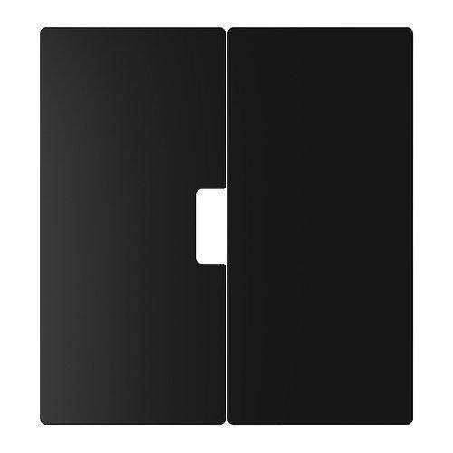 IKEA STUVA MALAD-Porte-Noir-Lot de 2-60 x 64 cm