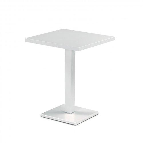 emu Round Gartentisch rechteckig, weiß lackiert LxBxH 70x50x75cm günstig