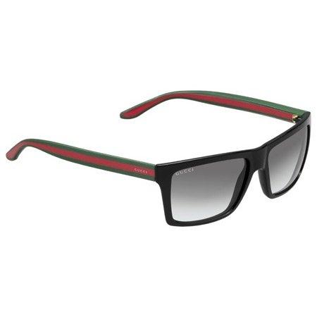 Gucci Occhiali da sole Da Uomo 1013/S - 51N/PT: Nero / Rosso - Verde