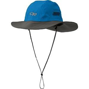 Outdoor Research Men's Seattle Sombrero Hat, Glacier/Dark Grey, Large