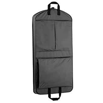 WallyBags 45 Inch Extra Capacity Garment Bag