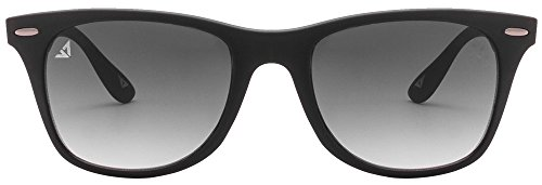 Vincent Chase VC 5189 Matte Black Grey Gradient C17 Wayfarer Light-Weight Sunglasses (103783)