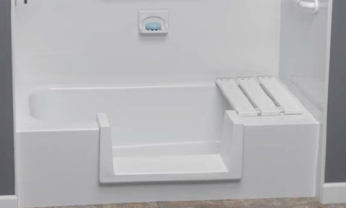 Step-Through Tub-to-Shower Conversion Kit - Small (Handicap Walkin Tub compare prices)