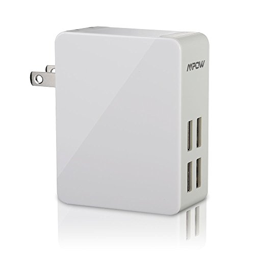 Mpow 25W/5A Portable USB Wall Charger