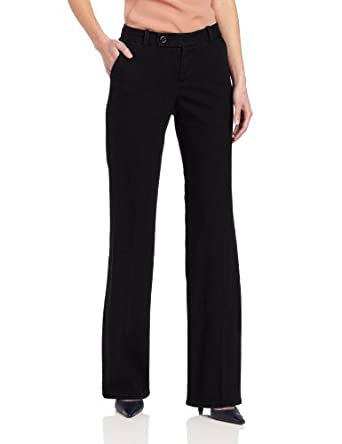 Dockers Women's The Trouser, Black Tint, 6 M