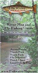 Mills River Fishing Map