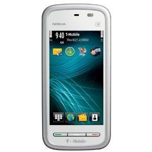 T-Mobile Nokia Nuron 5230 Touchscreen Prepaid Cell Phone
