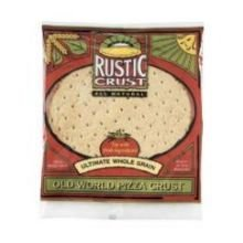 Rustic Crust Old World Ultimate Whole Grain Pizza Crust, 14 Ounce -- 8 per case.