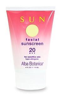 Alba Botanica Facial Sunscreen SPF 20 [Health and Beauty]