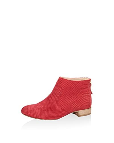 ROBERTO CARRIOLI Stiefelette Ankle rot
