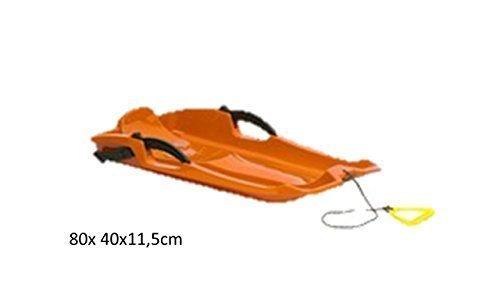 Luge-en-plastique-80x-40x-115cm-Couleur-Orange