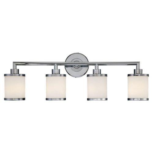 Millennium Lighting 224 4 Bathroom Vanity Light, Chrome