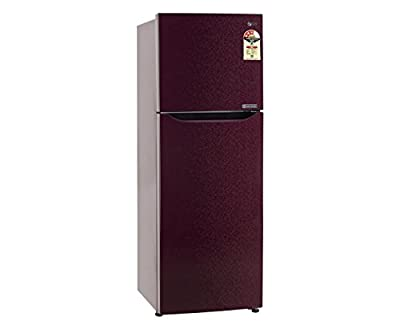 LG GL-B282SWCM Frost-free Double-door Refrigerator (255 Ltrs, 3 Star Rating, Wine Crystal)