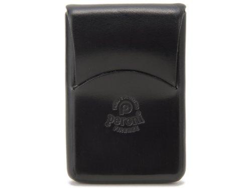 ペローニ カードケース 名刺入れ 1249BK ブラック メンズ/レディース peroni (並行輸入品)