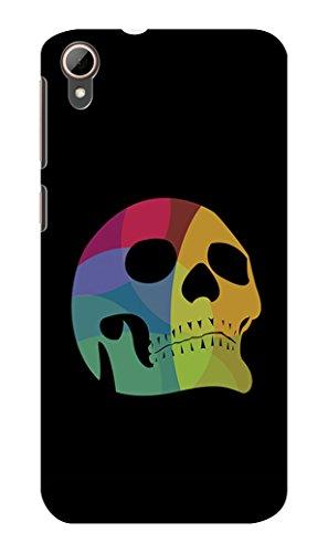 Koveru Back Cover Case for HTC Desire 828 - Colored Skull