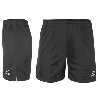 Sondico Core Football Shorts Boys Black 5-6 Yrs