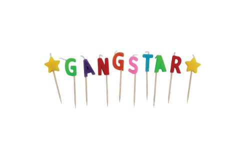 Party Partners Design Candid Candles: Gangstar, Multicolored - 1