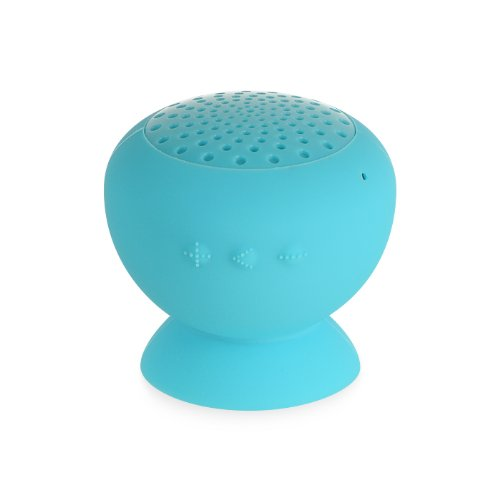 Importer520 (Tm) Portable Mini Wireless Bluetooth Wireless Speaker Suction Cup Stand With Microphone For Nokia Lumia Elvis 1020 (At&T) - Blue