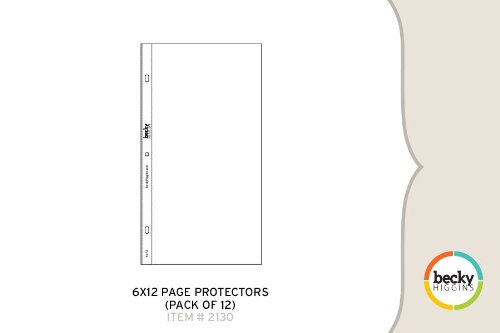 6 x 12 Page Protectors