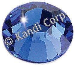 Kandi Corp Hotfix Swarovski Crystals 4mm Sapphire 24/Pkg K124-64; 3 Items/Order