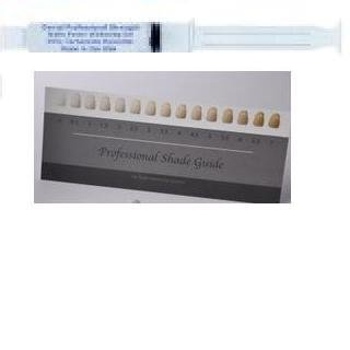 Wholesale 10ml 36% Carbamide Peroxide Professional Teeth Whitening Gel Syringe with Shade Card