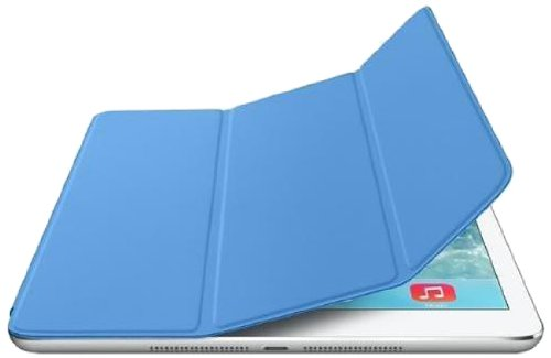 Apple MF054ZM/A Smart Cover Bleu pour iPad Air