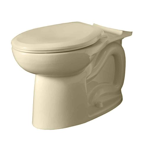 American Standard 3717A001.021 Cadet 3 Flowise Right Height Elongated Toilet Bowl Only In Bone front-758057