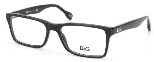 D&G Dd1233 Eyeglasses-501 Black-55Mm