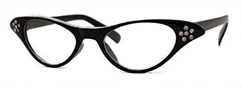 Hip Hop 50S Shop Baby/Toddler Cateye Glasses - Black