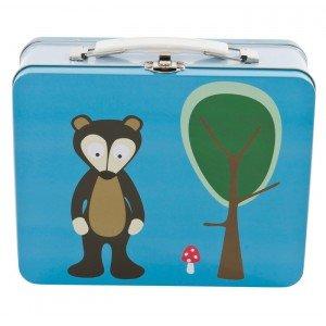 Lunch box foresta blu