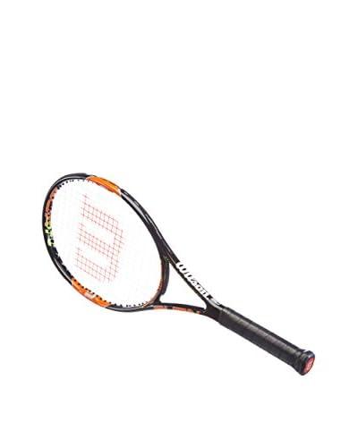 Wilson Raqueta Burn Team 100 Negro / Naranja
