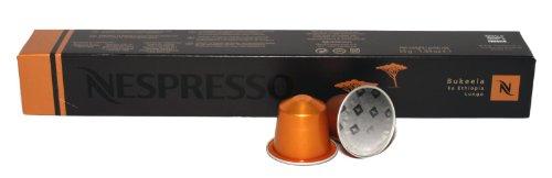 Get 10 Bukeela ka Ethiopia Lungo Nespresso Capsules Espresso Pure Origin from Nestlé