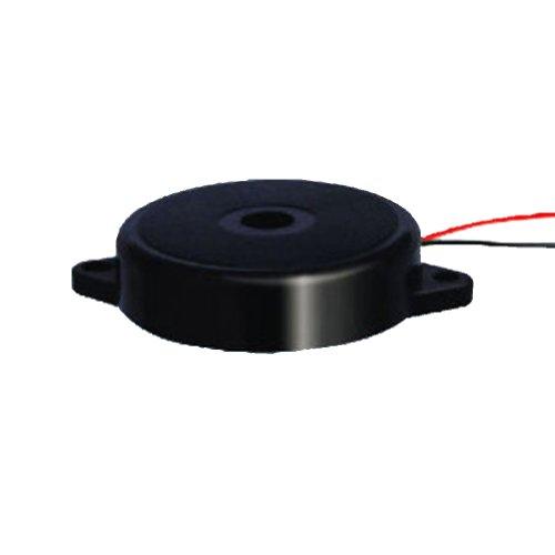 Generic Pack Of 100Pcs Active Electro Piezo Buzzer Intermittent Sound Size 35X9Mm 40V 2500Hz Black Case