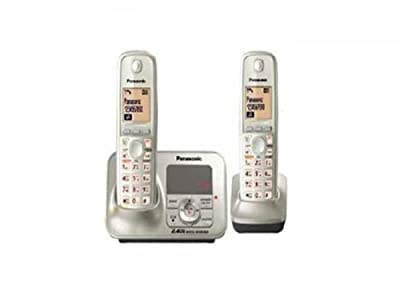 Panasonic Cordless Phone 2.4GHz KX-TG3722SXN (Silver)